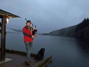 Opening of the fishing on Loch Tay